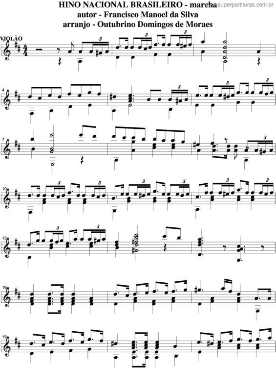 PARTITURA HINO NACIONAL BRASILEIRO PIANO PDF