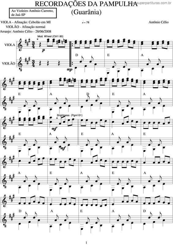 partituras recorda 231 245 es da pulha ant 244 nio c 233 lio